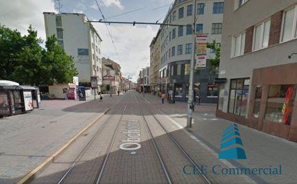 Odstúpenie obchodného priestoru, 60 m2, Obchodná ulica