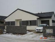 REALFINANC - 100% aktuálny! 4 izbový Rodinný Dom s garážou, Novostavba, zastavaná plocha 209 m2, pozemok 581 m2, Trnava !
