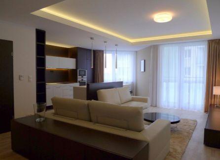 STARBROKERS - prenájom luxusného 2-izbového bytu s dvojgarážou v novostavbe na Bosákovej ulici, Bratislava - Petržalka