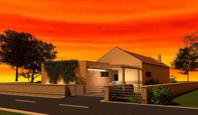 NÍZKOENERGETICKÝ 5 izb. rod dom, 114 m2 užitková plocha