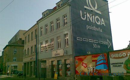 Retail premises for rent, Dunajska street