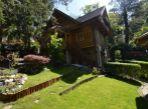 4 izb.chata, Plánky, zrubová drevostavba -dub, pozemok 566m2, 2x krb, les