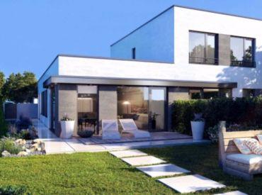 Moderný 4i byt so záhradkou pri hrádzi v Rovinke od 147 900,-   centrum obce!