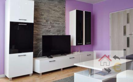 Prenajatý do 1.6.2020 - Krásny plne zariadený 2 izbový byt s loggiou Sídlisko III