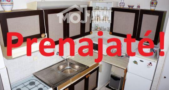 Prenájom - 2 izb. byt, ul. Mlynarovičova, Petržalka