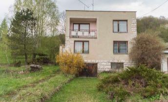 LEN U NÁS - rodinný dom v obci Nálepkovo, okr. Gelnica, 1047 m2