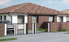 Krásne rodinné domy na predaj/dvojdom/ v Dunajskej Strede
