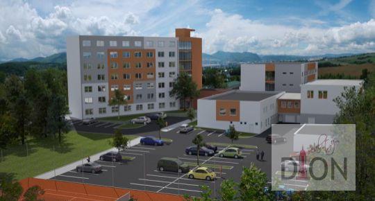 Plánovaný bytový komplex vo Zvolene