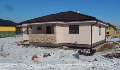 Novostavba nízkoenergetický bungalov Sp. Tomášovce -cena dohodou