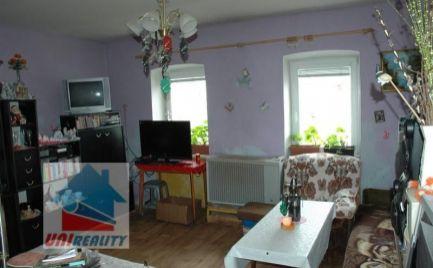 HORNÉ NAŠTICE - 3 - izbový dom na predaj / pozemok 449 m2 / hospodárska budova
