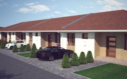 Novostavba - Radové domy na predaj v obci Holice, časť Póšfa