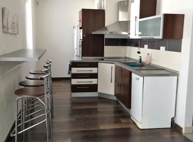 INSURIA REAL Vám ponúka na prenájom zariadený 1 izbový byt Bratislava-Karlova Ves,  Kresánkova