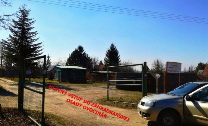 PREDAJ -  pozemok - záhrada v Stupave, časť Mást 2 - pre rekreačnú stavbu alebo rodinný dom o výmere 421 m2 + bonus: 44m2 podiel cesty.