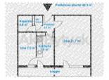 Predaj 1,5 izb. Čsl. parašutistov po kompletnej rekonštrukcii, 2 x loggia.