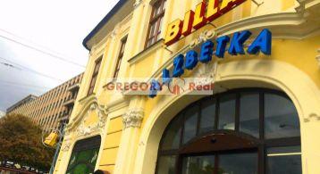 PRENÁJOM: Obchodný priestor pre POTRAVINY (Commercial space FOR RENT), centrum mesta, Mickiewiczova ul., Bratislava I. Staré Mesto