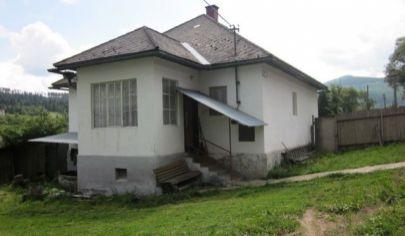 RD na bývanie aj rekreáciu s pozemkom 2900 m2, Nálepkovo