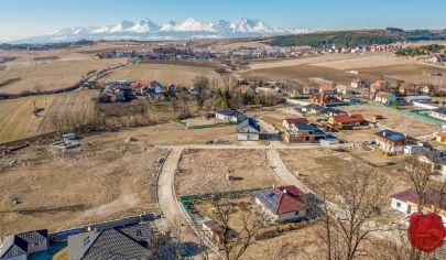 Atraktívne stavebné pozemky (od 466 až 1173 m2), Hôrka