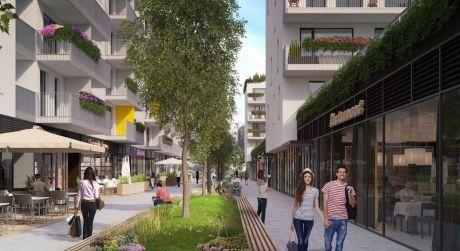 Predaj obchodného priestoru na Jarabinkovej ulici - vo výstavbe