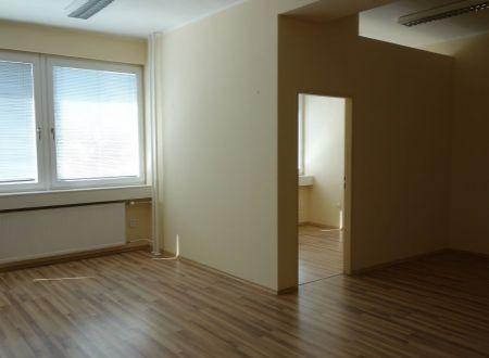 Kvalitné kancelárske priestory, Ružová dolina, Bratislava-Ružinov, 50m2, parkovanie