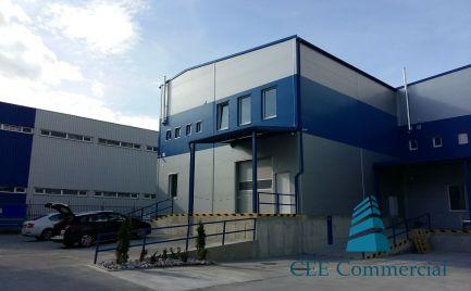 Nový sklad s kanceláriami na prenájom, 375 m2