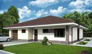 Novostavba rodinného domu typu bungalov