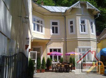 Penzión - obytná vila v obci Hodruša-Hámre