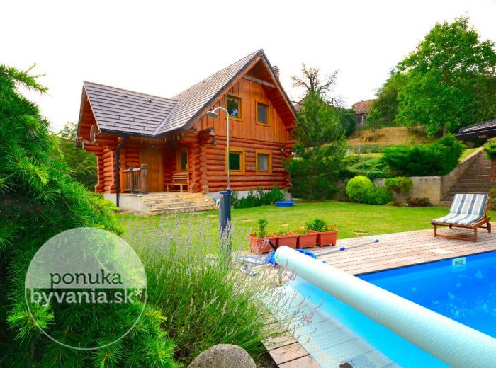 PREDANÉ - PODKYLAVA, 4-i dom, 112 m2 – dvojpodlažný ZRUB, NOVOSTAVBA, pozemok 1 721 m2, Myjava, Kopanice