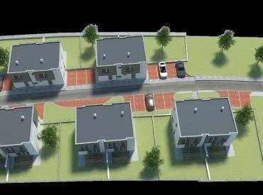 Nové domy v centre Rovinky v standarde a  S KUCHYNSKOU LINKOU!!!CENY OD 135.900,- €