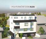 Polyfunkčný dom Alea: novostavba 4i bytu, lodžia, 2x terasa, 120 m2, Trenčín, ul.Osloboditeľov / lokalita Soblahovská