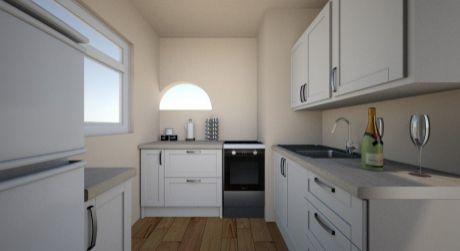 2 izbový byt (46,8m2) s loggiou v blízkosti prírody - Klačno