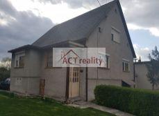 ACT Reality - Rodinný dom s poz. 450 m2, Cígeľ, Prievidza