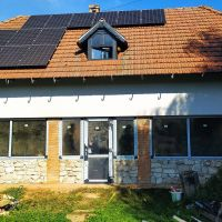 Rodinný dom, Hollóháza, 88 m², Čiastočná rekonštrukcia