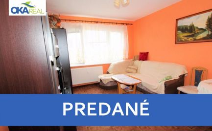 3 izb. byt 64 m2 na Bysterci