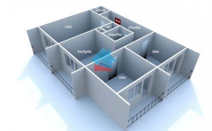 PREDANÉ !!! BÁNOVCE NAD BEBRAVOU- 3 izbový byt / DUBNIČKA / pôvodný stav