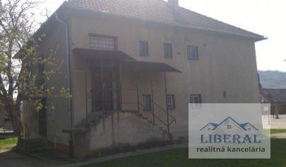 Na predaj rodinný dom v Detve vhodný na bývanie alebo na podnikateľské účely
