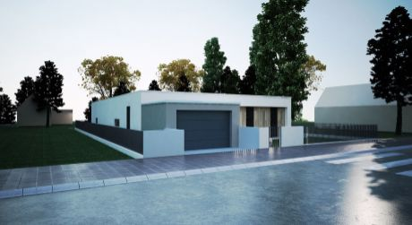 Stavebný pozemok P38/879,35 m2/ Horná Streda