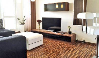 Na Prenájom: Krásny a moderne zariadený 1,5-izbový byt s loggiou, 42m2, Kežmarská ul., KE