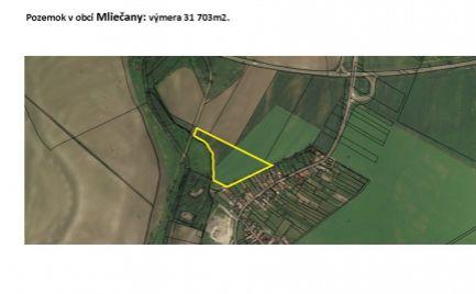 Predaj ornej pôdy v katastrálnom území Mliečany, Dunajská Streda