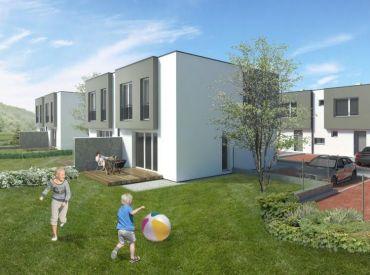 www.zahradyrovinka.sk POSLEDNÉ 2 domy v centre Rovinky v štandarde a S KUCHYNSKOU LINKOU!Od 135900,-!!!