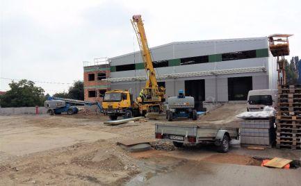 Nová skladová hala, 1 532 m2, BA - Ružinov
