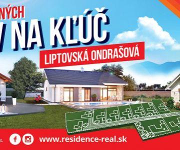Novostavba bungalovu v mestskej časti Ondrašová - Liptovský Mikuláš