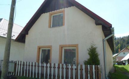 REZERVOVANÉ - Rodinný dom/chata/chalupa, Dedinky