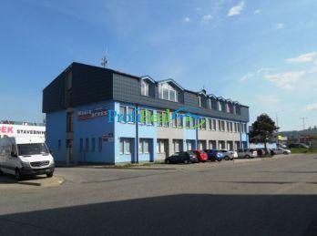 Na predaj administratívna budova s halou, Poprad