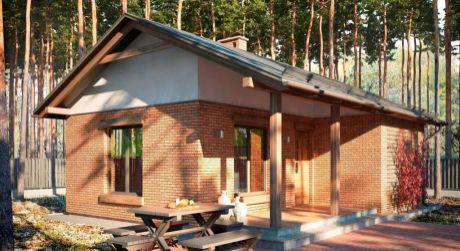2 - izbová rodinná chatka 63 m2 - obec Dunasziget