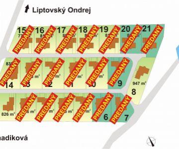 Posledné 2 stavebné pozemky v obci Beňadiková