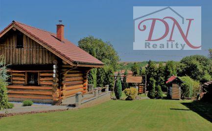 Na predaj zrubová chata vo vyhľadávanej rekreačnej oblasti  s 18á pozemkom.