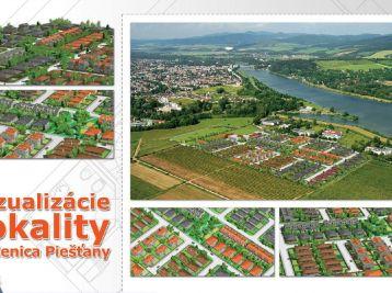 3 izbový bungalov, pozemok 476 m2, Lodenica Piešťany
