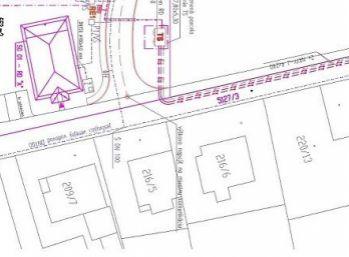 Stavebný pozemok 553 m2 v obci Beckov + stav. povolenie/ VOĹNÝ