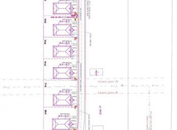 Stavebný pozemok 619 m2 v obci Beckov + stav. povolenie/ VOĹNÝ
