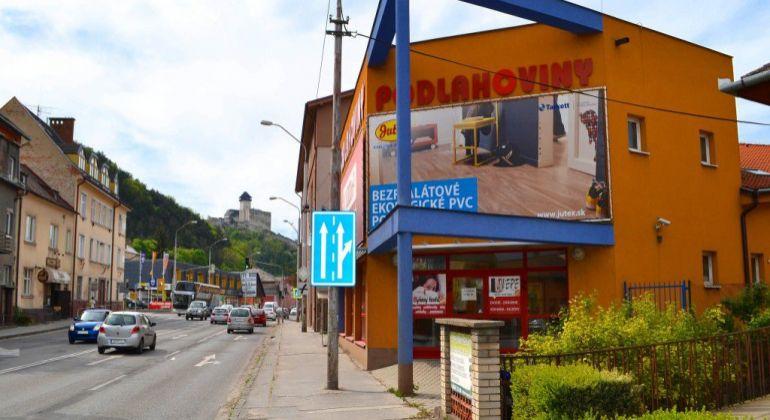 Na prenájom 501m2 obchodných priestorov na 2np, ul.M.R Štefánika, Trenčín